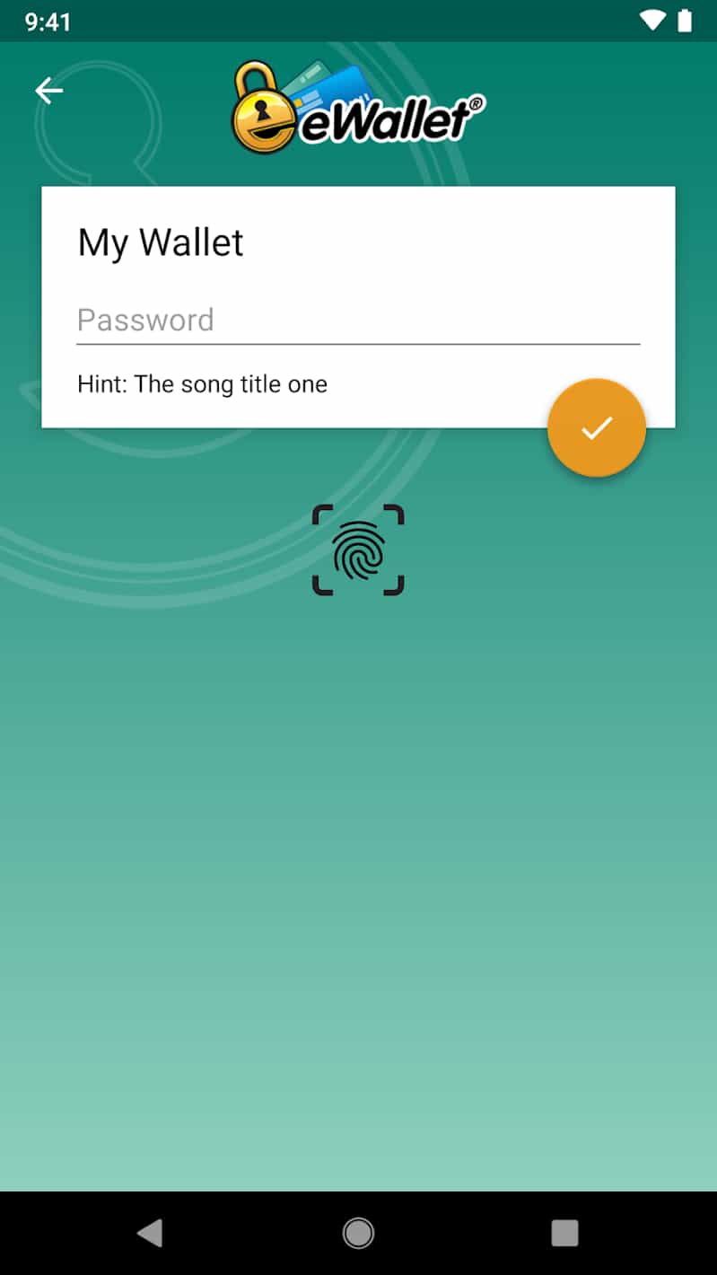 eWallet - Password Manager Patched APK