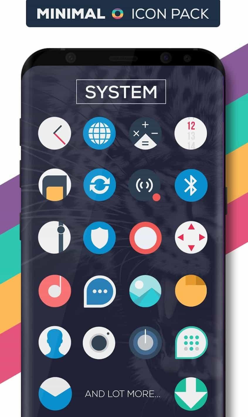 Minimal O Icon Pack Patched APK
