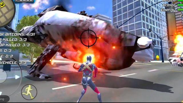 Amazing Strange Rope Police - Vice Spider Vegas Gameplay Android