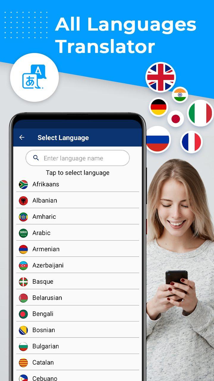 All Languages Translator - Free Voice Translation MOD APK