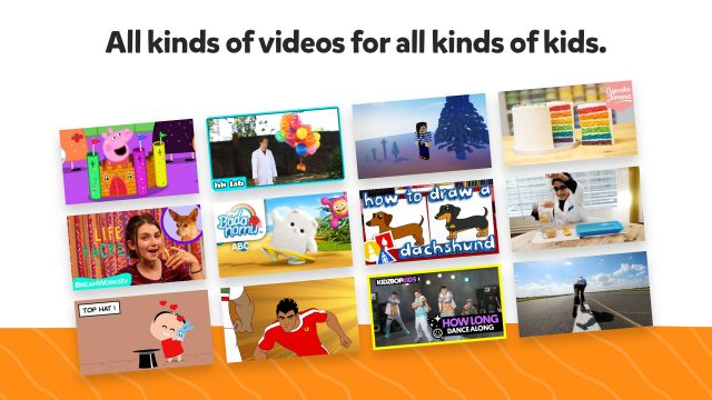 All kinds of videos for all kinds of kids