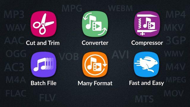 Video Converter, Compressor MP4, 3GP, MKV,MOV, AVI