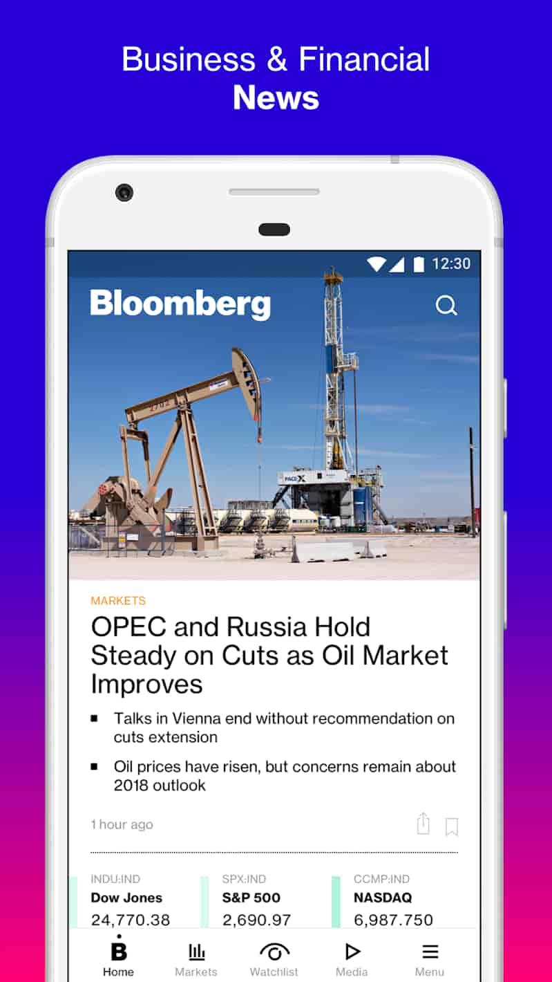 Bloomberg Market & Financial News MOD APK