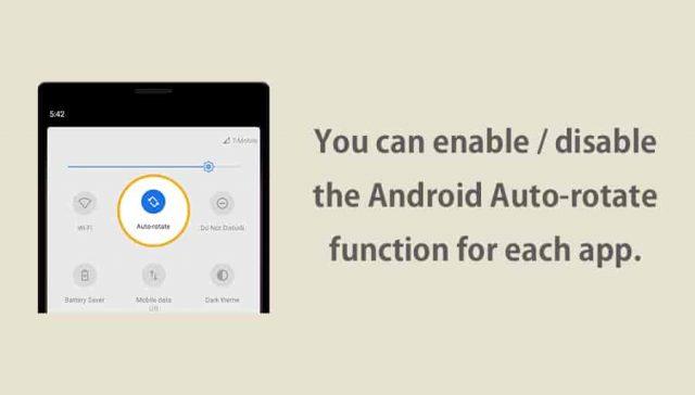 Auto-rotate Control Pro