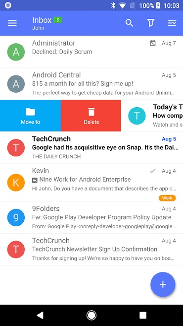 Nine - Email & Calendar Pro Mod Apk