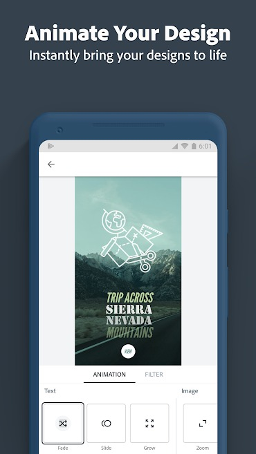 Adobe Spark Post Premium Mod Apk