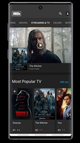 IMDb Movies & TV Shows