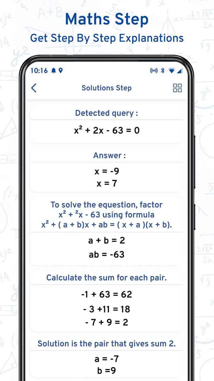 Math Scanner By Photo MOD APK Latest Version