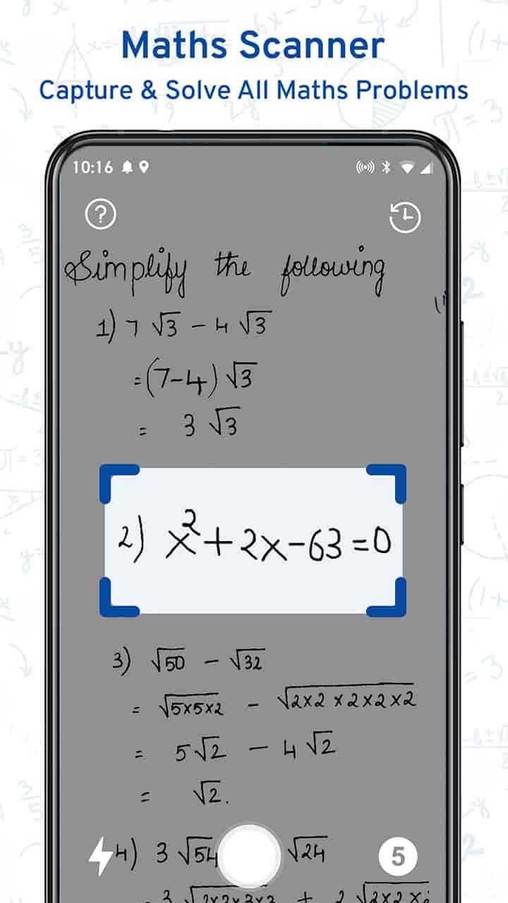 Math Scanner By Photo - Solve My Math Problem MOD APK