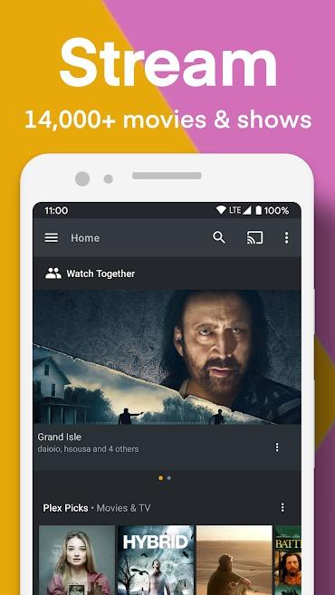 Plex for Android Mod Apk