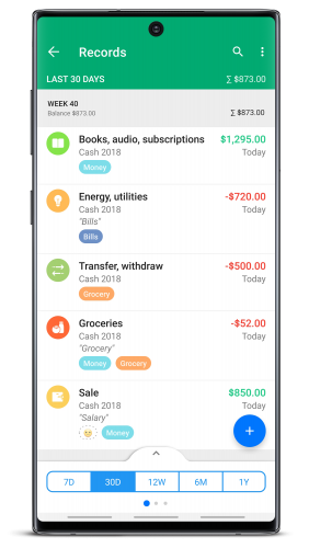 Wallet - Money, Budget, Finance & Expense Tracker