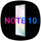 cool note10 launcher for galaxy notesa theme ui