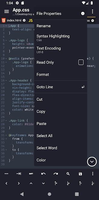 Acode - powerful code editor Pro Apk