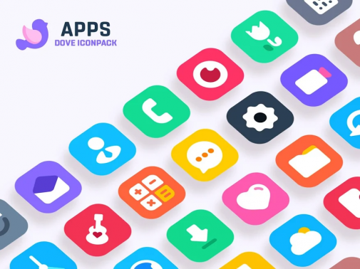 Dove Icon Pack Patched Apk