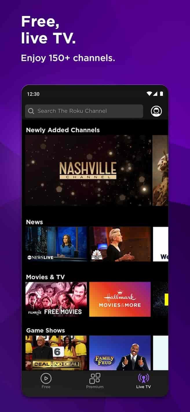 Roku Channel MOD APK Premium Unlocked