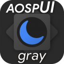 aospui gray substratum dark themesamsungsynergy
