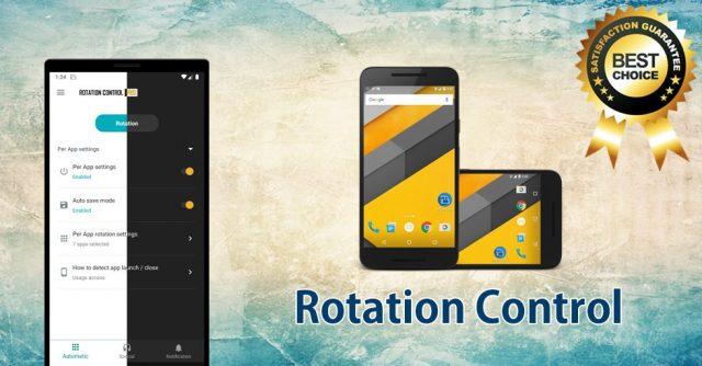 Rotation Control Pro