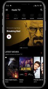 Hunk TV v3.4 MOD APK (Ad-Free) 1
