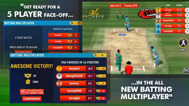 World Cricket Championship 2 Mod Unlimited Coin