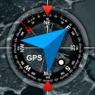 gps location info sms coordinates compass