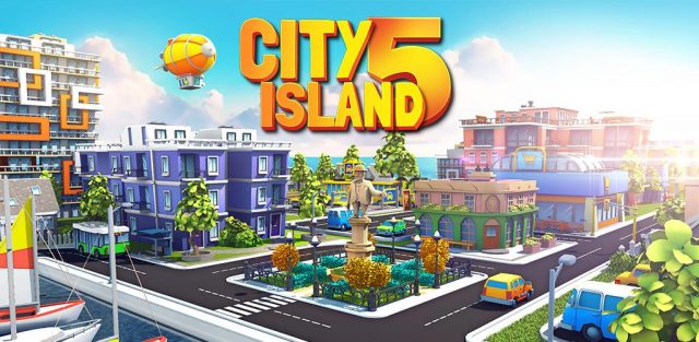 City Island 5 Tycoon Building Simulation Offline Cover 2020