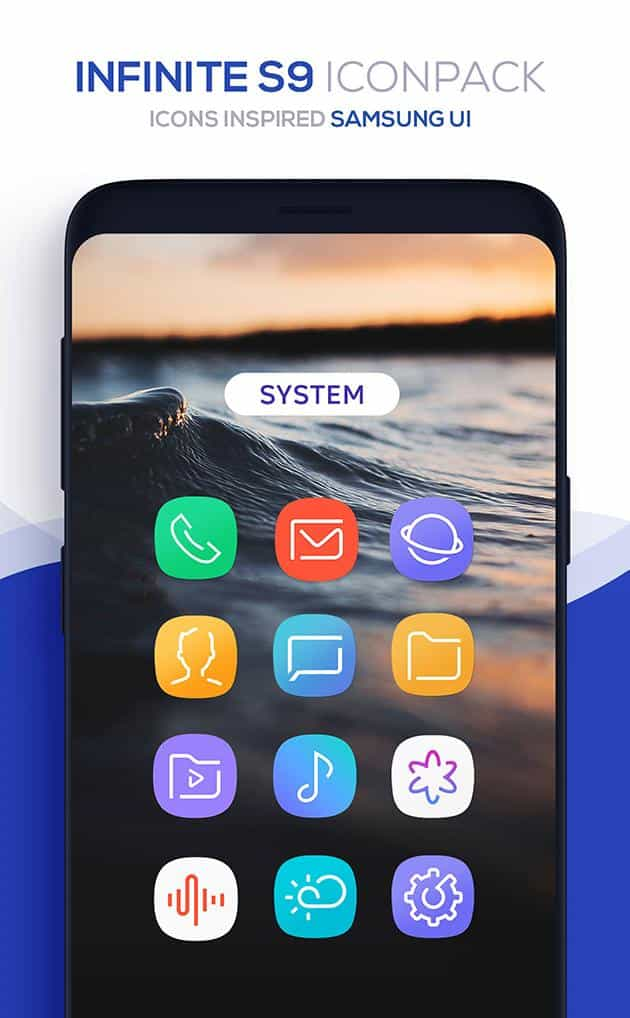 Infinite Icon Pack Patched APK