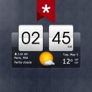 sense flip clock weather ad free