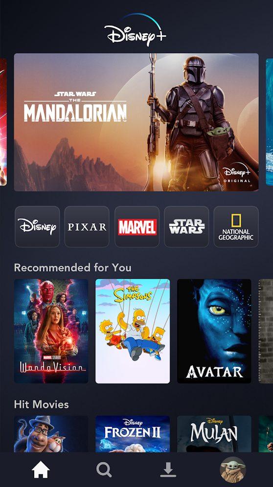 Disney+ MOD APK (Subscribed)