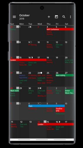 aCalendar+ Calendar & Tasks Final APK