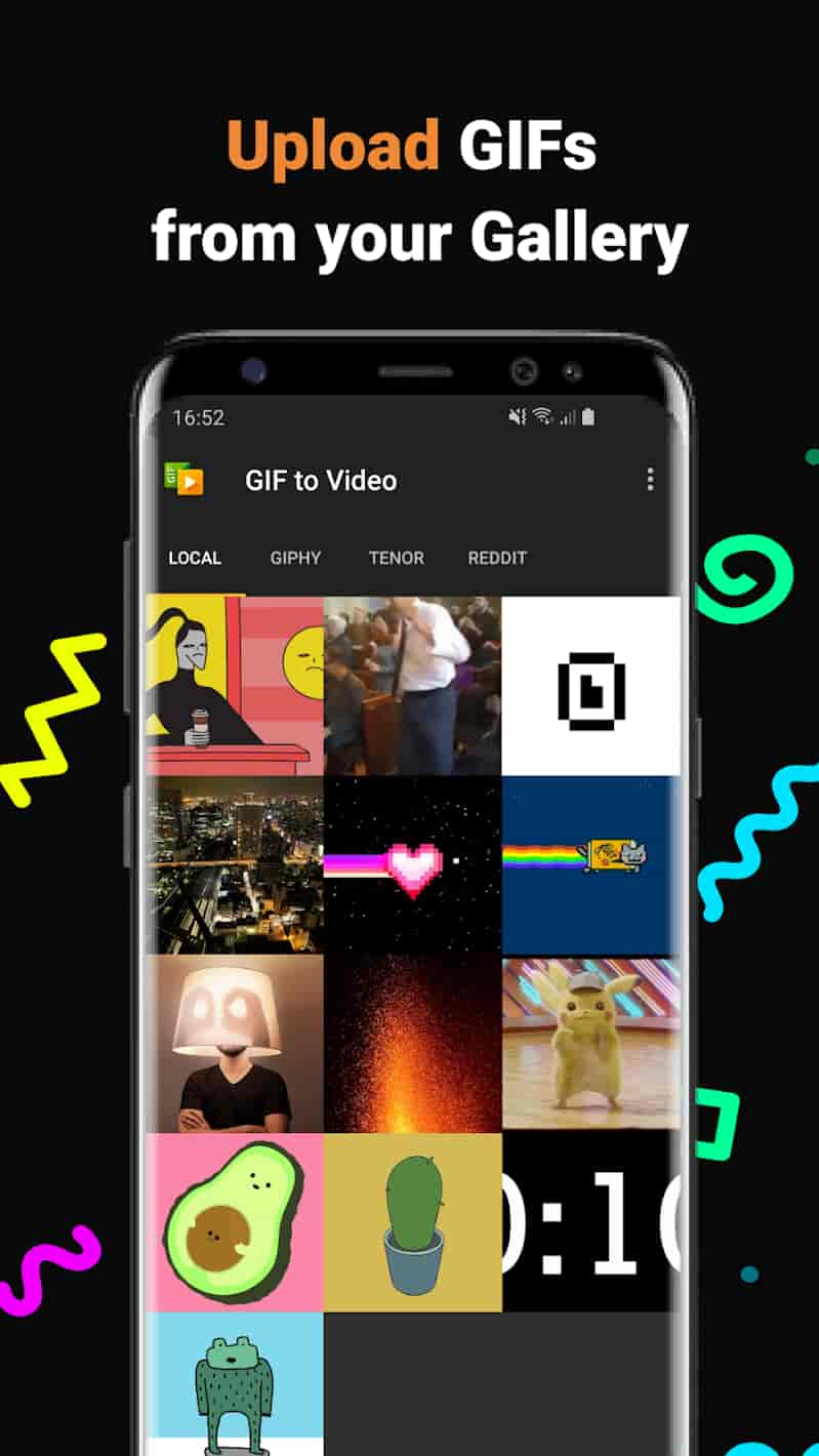 GIF to Video Premium MOD APK by parizene