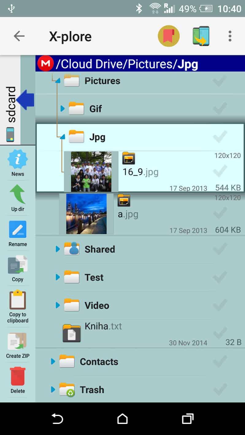 X-plore File Manager Donate