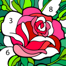 happy color color by number coloring games