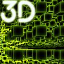 infinite cubes particles 3d live wallpaper