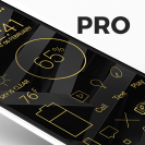 lines gold pro icon pack