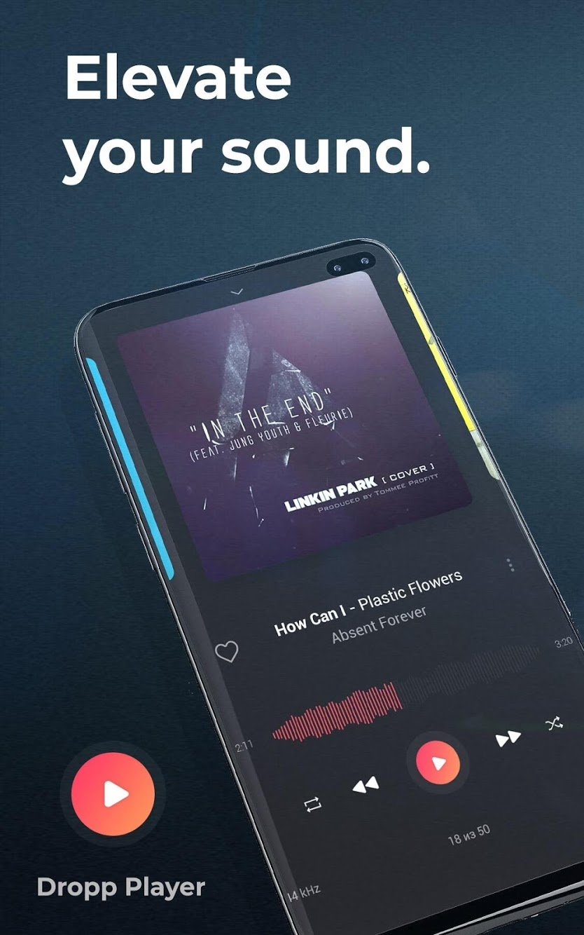 Dropp Music Player Premium Apk