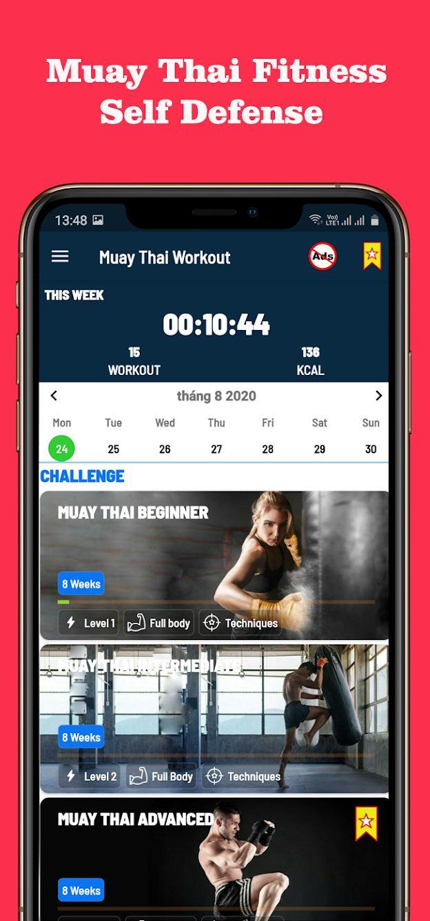 Muay Thai Fitness Pro MOD APK - Muay Thai At Home Workout