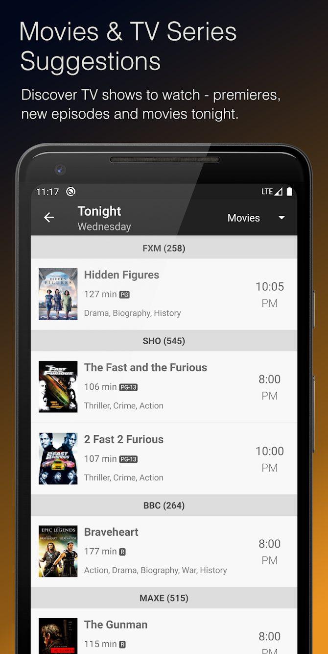 TV Listings & Guide Plus MOD APK