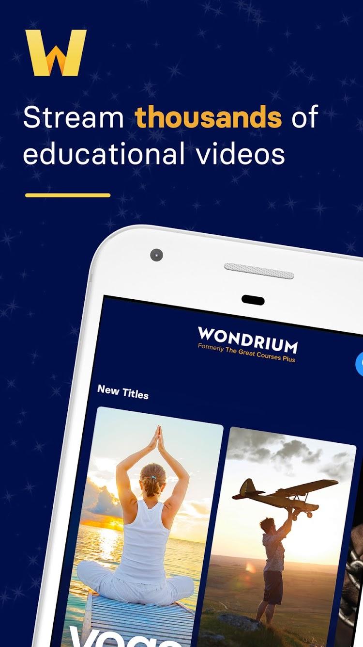 Wondrium Premium MOD APK