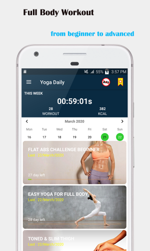 Yoga Home Workouts - Yoga Daily For Beginners Premium MOD APK