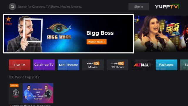 YuppTV for AndroidTV APK