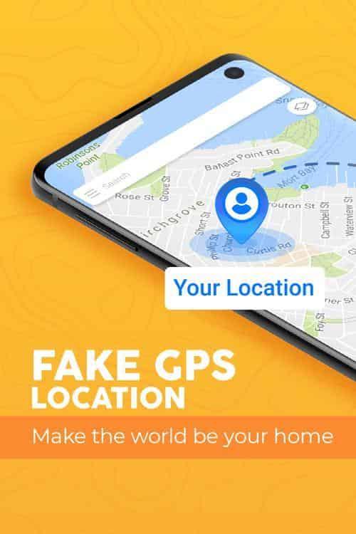 Fake GPS location Joystick