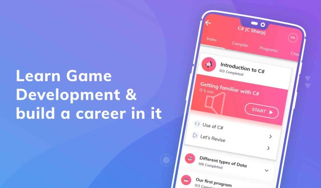 Learn Game development with Unity & C# PRO MOD APK