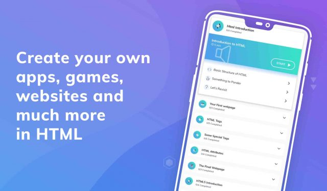 Learn HTML Pro MOD APK by Coding and Programming