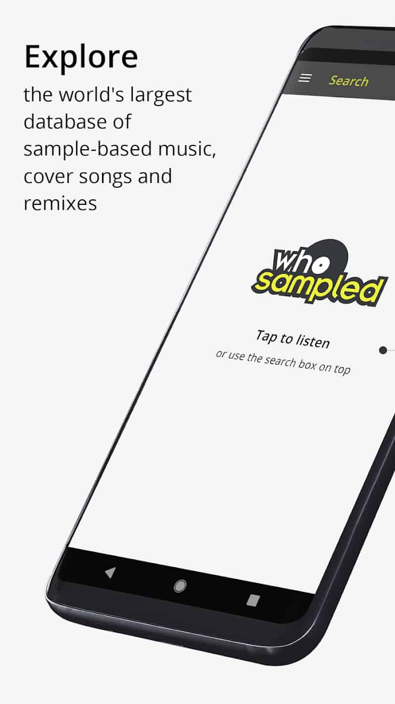 WhoSampled Dig Deeper into Music MOD APK