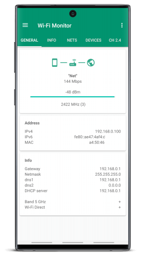 Wi-Fi Monitor+ by Andrey Efremov Patched APK Latest Version