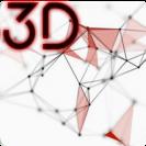 3d abstract particle plexus live wallpaper