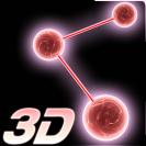 crystal particle plexus 3d live wallpaper